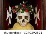 knights templars skull remember ... | Shutterstock . vector #1240292521