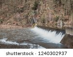 dam water flow  surface flow ... | Shutterstock . vector #1240302937
