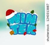 stock vector winter...   Shutterstock .eps vector #1240313887