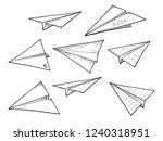 vector illustration of paper... | Shutterstock .eps vector #1240318951