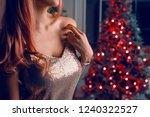 pink toning horizontal shot of...   Shutterstock . vector #1240322527