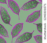 creative seamless pattern with... | Shutterstock . vector #1240331071