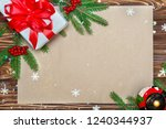 christmas background.xmas... | Shutterstock . vector #1240344937