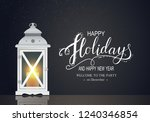 holidays greeting card for... | Shutterstock .eps vector #1240346854