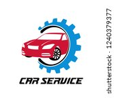 car dealer or maintenance... | Shutterstock .eps vector #1240379377