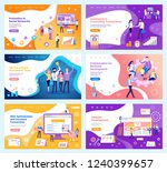 assistance in concluding   ... | Shutterstock .eps vector #1240399657