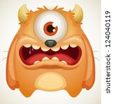 monster | Shutterstock .eps vector #124040119