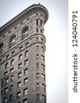 new york city   june 28  flat... | Shutterstock . vector #124040791