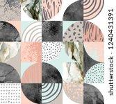 modern seamless geometric...   Shutterstock . vector #1240431391