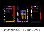 vector vertical background... | Shutterstock .eps vector #1240436911