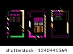 vector vertical background... | Shutterstock .eps vector #1240441564
