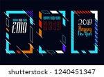 modern trend in the graph.... | Shutterstock .eps vector #1240451347