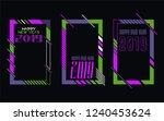 vector vertical background... | Shutterstock .eps vector #1240453624