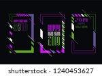 vector vertical background... | Shutterstock .eps vector #1240453627