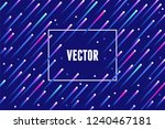 vector abstract background with ... | Shutterstock .eps vector #1240467181