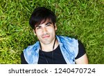 very handsome young indian man...   Shutterstock . vector #1240470724