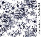 abstract elegance seamless... | Shutterstock .eps vector #1240496584