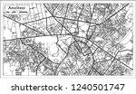 amritsar india city map in... | Shutterstock . vector #1240501747