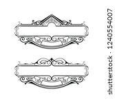vector design element   Shutterstock .eps vector #1240554007