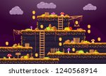 video game. elements and... | Shutterstock .eps vector #1240568914