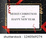 merry christmas.  can be used... | Shutterstock .eps vector #1240569274