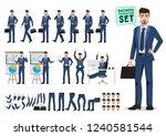 male business character vector...   Shutterstock .eps vector #1240581544