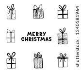 hand drawn illustration of... | Shutterstock .eps vector #1240581964