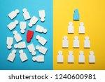 business organization... | Shutterstock . vector #1240600981