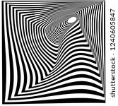 abstract black and white... | Shutterstock .eps vector #1240605847