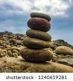 collecting stones. multiple... | Shutterstock . vector #1240619281