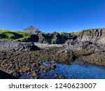 volcanic lava coastline of the... | Shutterstock . vector #1240623007