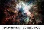 high definition star field... | Shutterstock . vector #1240624927