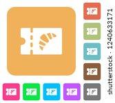 bakery discount coupon flat... | Shutterstock .eps vector #1240633171