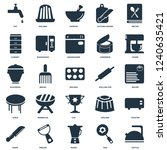 elements such as kettle  pan ... | Shutterstock .eps vector #1240635421