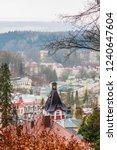 view of  marianske lazne spa ... | Shutterstock . vector #1240647604