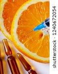 vitamin c concept | Shutterstock . vector #1240672054