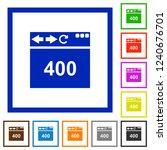 browser 400 bad request flat... | Shutterstock .eps vector #1240676701