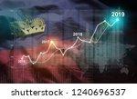 growing statistic financial... | Shutterstock . vector #1240696537