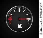 fuel gauge icon. gasoline... | Shutterstock .eps vector #1240748557