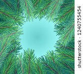 high detailed realistic green... | Shutterstock .eps vector #1240755454