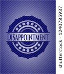 disappointment denim background | Shutterstock .eps vector #1240785937