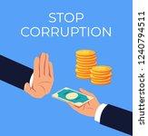 crime hand offer giving dirty...   Shutterstock .eps vector #1240794511