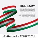 hungary flag  vector...   Shutterstock .eps vector #1240798231