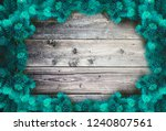 christmas background with light ... | Shutterstock . vector #1240807561