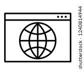 browser vector icon