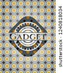 gadget arabic badge background. ... | Shutterstock .eps vector #1240818034
