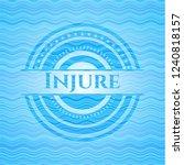injure water concept badge... | Shutterstock .eps vector #1240818157