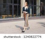 milan  italy  19 september 2018 ... | Shutterstock . vector #1240822774