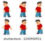 vector illustration of... | Shutterstock .eps vector #1240900921