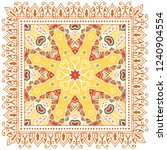 decorative colorful ornament on ... | Shutterstock .eps vector #1240904554